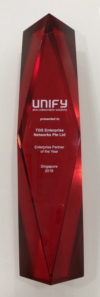 Enterprise of the year Singapore